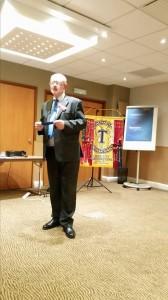 Best speaker - Anthony Day