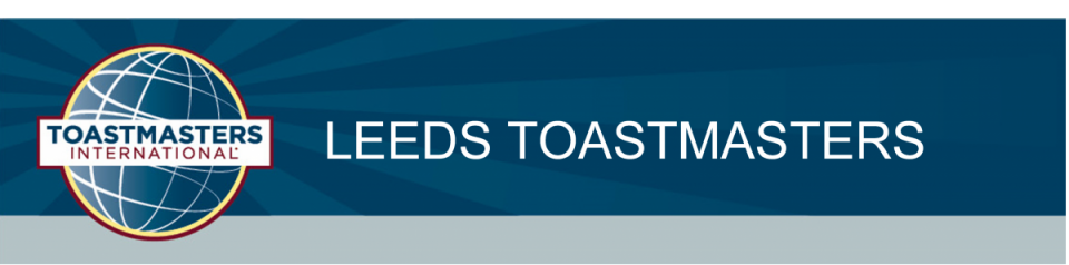 Toastmasters in Leeds